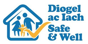 Safe and Well logo