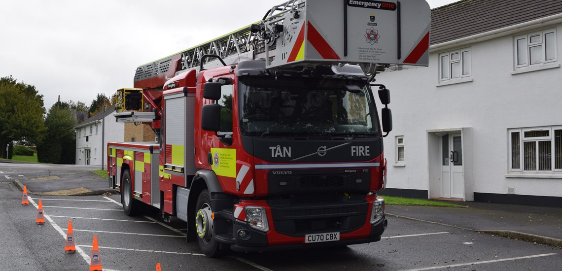 MAWWFRS Turntable Ladder 1
